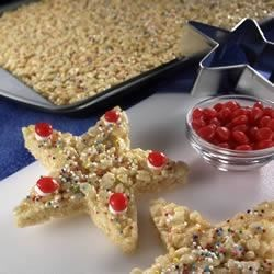 Photo of Kellogg's® Rice Krispies Treats® Christmas Stars by Kellogg's® Rice Krispies®