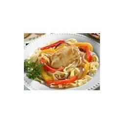 Honey Dijon Fettuccine and Chicken Recipe