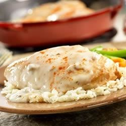 Creamy Ranch Chicken and Rice