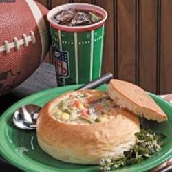 Photo of Big Game Bread Bowls by Darlene  Alexander