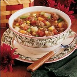 Photo of Slow Cooker Vegetable Soup by Heather  Thurmeier