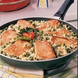 Photo of Pork Chops Over Rice by Nancy  Christenberry