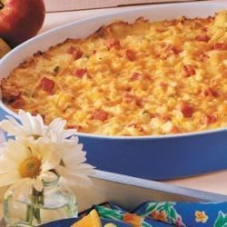 Ham N Cheese Potato Bake