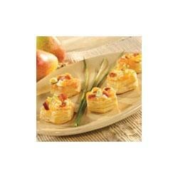 Bacon and Cheese Tartlets Recipe