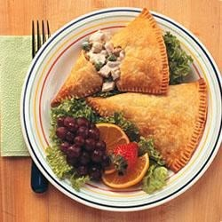 Creamy Chicken Turnovers Recipe