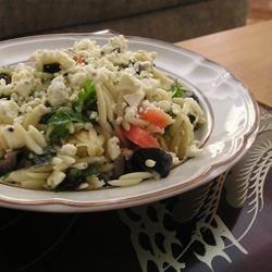 greek orzo salad review by sarah jane thompson