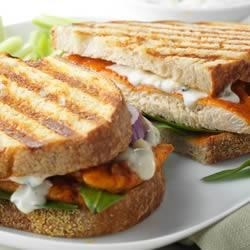 Marzetti(R)  Buffalo Blue Cheese Chicken Panini Recipe