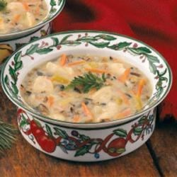 Photo of Chicken Wild Rice Soup by Virginia Montmarquet