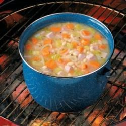 Photo of Campfire Bean 'N' Ham Soup by Tom  Greaves