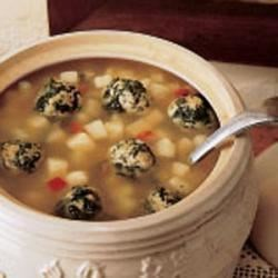 Photo of Potato Soup with Spinach Dumplings by Rosemary  Flexman