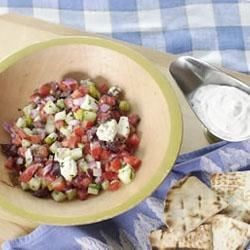 DANNON'S Greek Salad Recipe