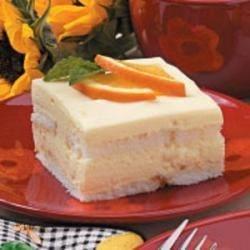Photo of Orange Refrigerator Cake by Marietta Martin
