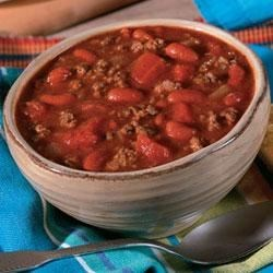 Campbell's(R) Slow Cooker Hearty Beef and Bean Chili Recipe