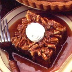 Chocolate Squares with Nutty Caramel Sauce Recipe