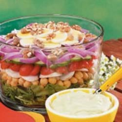 Photo of Hearty Layer Salad by Dorothy Smith