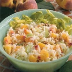 Photo of Peachy Rice Salad by Linda  Goshorn