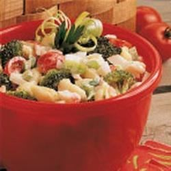 Photo of Crab Pasta Salad by Kathryn  Anderson