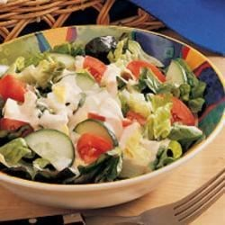 Photo of Salad with Creamy Dressing by Grace  Yaskovic
