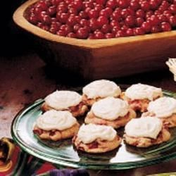 Photo of Frosted Cranberry Drop Cookies by Shirley  Kidd