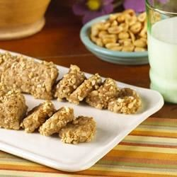 Peanut Butter Logs Recipe