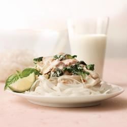 Photo of Chicken and Greens Stir-Fry with Almonds by Dairy Farmers of Canada Real Cream