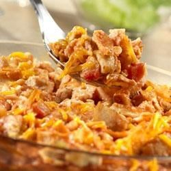 E-Z Chicken Tortilla Bake Recipe