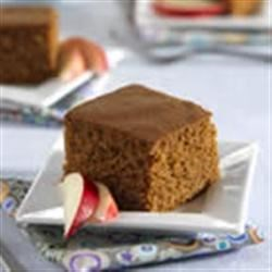 Applesauce Snacking Cake