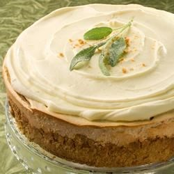 Sweet Potato Cheesecake with Graham Cracker Crust Recipe