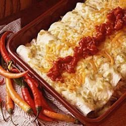 Photo of Beef or Chicken Enchiladas by Pam  Tangbakken
