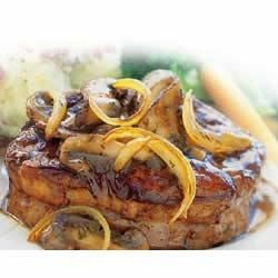 Beef Medallions in Portobello Wine Sauce Recipe