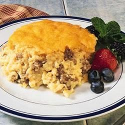 Grits and Sausage Bake Recipe