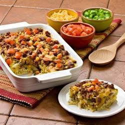 Mexican Potato Sausage Casserole