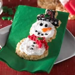 Frosted Snowmen Treats(TM) Recipe
