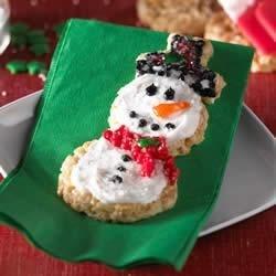 Frosted Snowmen Treats(TM) Recipe