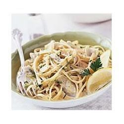 Linguine with Artichokes and Lemon Recipe