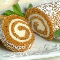 Libby's(R) Pumpkin Roll with Cream Cheese Filling Recipe