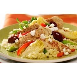 Mediterranean Chik'n and Artichokes Recipe
