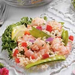Photo of Sesame Shrimp Rice Salad by Sunshine  Wall