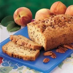 Photo of Peach Cobbler Bread by Amy  Maindelle