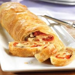 Vegetable Cheese Strudel Recipe
