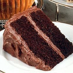 Photo of Deep Dark Chocolate Cake by HersheysKitchens.com