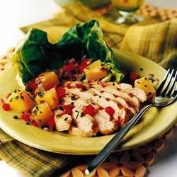 Caribbean Chicken Grill with Pineapple Salad Recipe