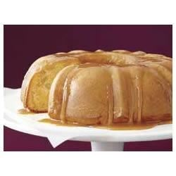 Moist Caramel Apple Cake Recipe