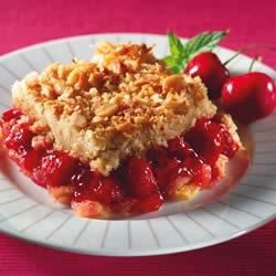 Photo of Cherry Pineapple Cabana Dump Cake by Lucky Leaf Fruit Filling