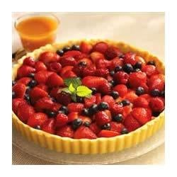 Butterscotch Berry Tart Recipe