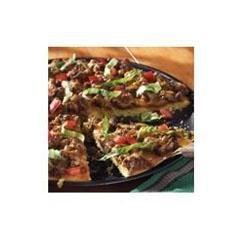 Taco Cornbread Pizza