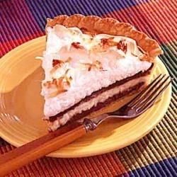 chocolate coconut cream pie printer friendly