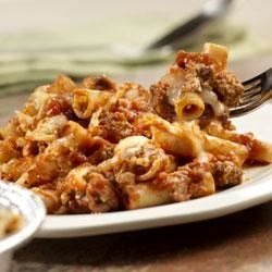 Prego(R) Now and Later Baked Ziti Recipe