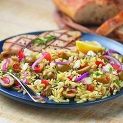 Mediterranean Orzo Saute Recipe