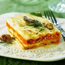 Winter Squash Lasagna and Ricotta